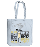Prosecco Gift Tote Bag 'May The Fizz be with You'