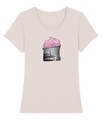 Ladies 'Cup Cake Colosseum' Organic Cotton T-Shirt