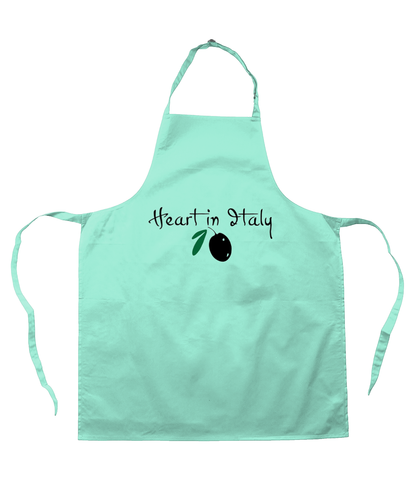 Chef's Apron 'Olive' Design
