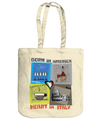 'Born in America' Italian Gift Tote Bag