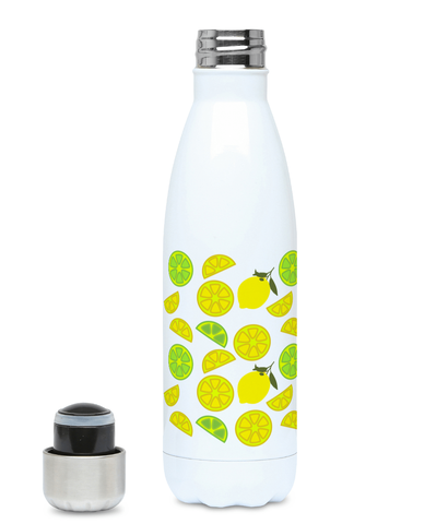 Lemon design water bottle