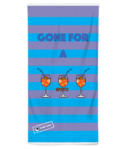 Spritz Beach Towel