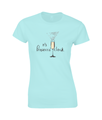 Ladies Prosecco T-Shirt 'Prosecco'Clock'