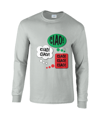 Men's Cotton Long Sleeve T-Shirt 'Chatter' Collection