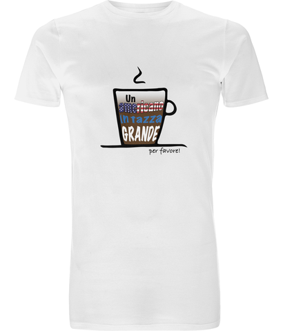 Men's Long T-Shirt 'Caffè' Collection