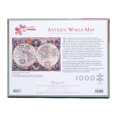 Antique World Map Puzzle