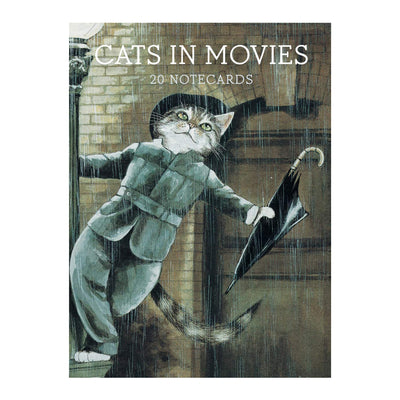 Cats in Movies Notecards