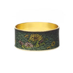 Chrysanthemum Bangle Bracelet