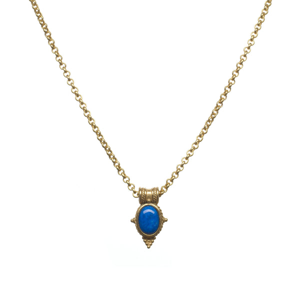 Egyptian Revival Pendant Necklace
