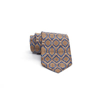 Islamic Blue & Gold Necktie