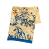 Japanese Flowers Silk Scarf