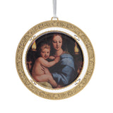 Madonna of the Candelabra Ornament