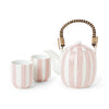 Obi Stripe Tea Set