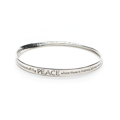 St. Francis Peace Prayer Bracelet