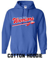 Warriors Cotton Hoodie