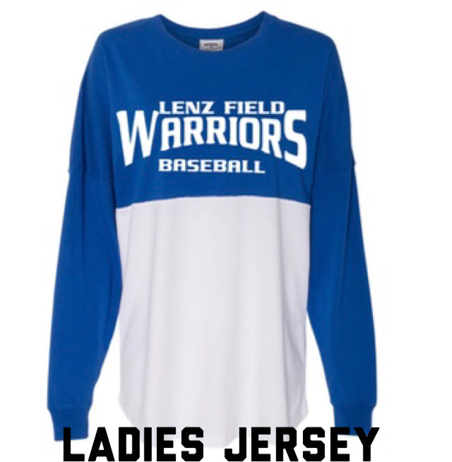 Warriors Ladies Jersey