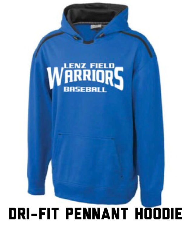 Warriors Dri-Fit Pennant Hoodie