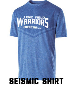 Warriors Seismic Holloway Shirt