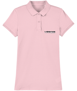 Modified Scoobies Embroidered Stella Devoter Women's Polo Shirt - Infinity Decals