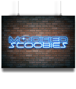 Modified Scoobies Neon Poster - Infinity Decals