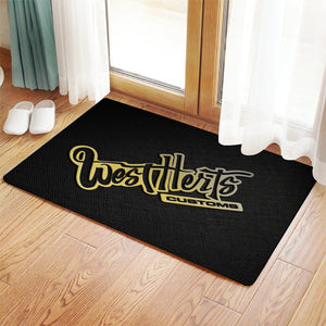 West Herts Customs Doormat - Infinity Decals