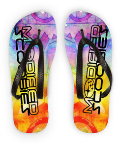 Modified Scoobies Tiki Flip Flops - Infinity Decals