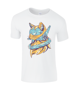 Future Cat SoftStyle® Ringspun T-Shirt