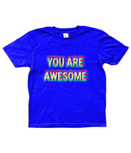 'YOU ARE AWESOME' Kid's T-Shirt - Infinity Decals