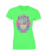 Action Cat SoftStyle® Ladies Fitted Ringspun T-Shirt