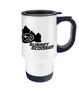 Surrey Scoobies Travel Mug - Infinity Decals