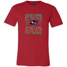 Good Cars Subaru Men's T-Shirt