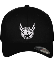 SimFX Racing Yupoong Black Fitted Baseball Cap - Infinity Decals