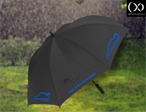 Bath & Bristol Scoobys Golf Umbrella - Infinity Decals