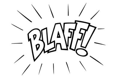 BLAFF! Comic Decal