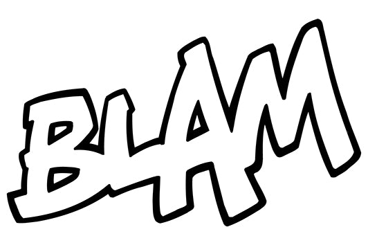 BLAM Comic Decal