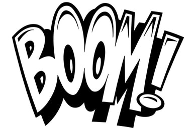 BOOM! Comic Decal