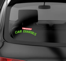 Cowabunga Car Diaries Logo Decal