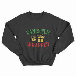 Gangster Wrapper Christmas Unisex Jumper - Infinity Decals