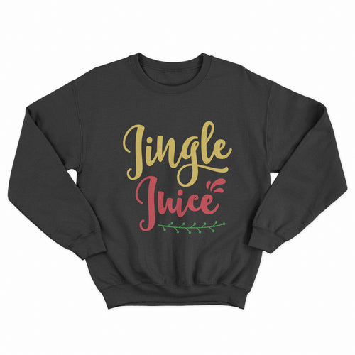 Jingle Juice Christmas Unisex Jumper - Infinity Decals