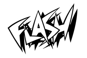 FLASH Comic Decal