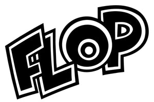 FLOP Comic Decal