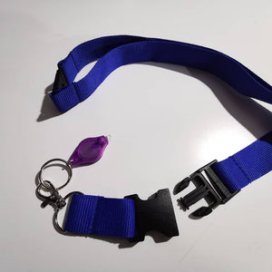 UV LED Keychain Lanyard - Infinity Decals