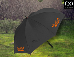 Modified RCZ Owners Club Golf Umbrella - Infinity Decals