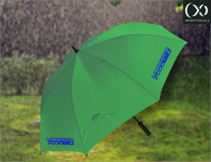 Modified Scoobies Golf Umbrella - Infinity Decals