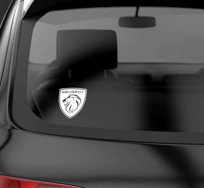 Peugeot 2021 solid logo decal
