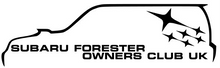 Subaru Forester Owners Club UK Decal - Pair - Infinity Decals
