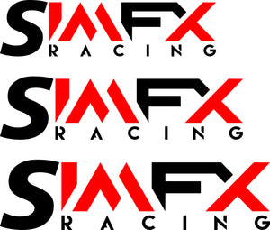 SimFX Racing Logo decal