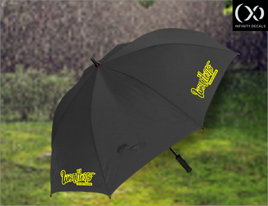 West Herts Customs Golf Umbrella - Infinity Decals