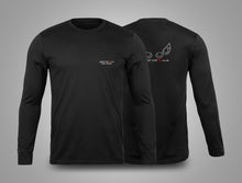 ZX14R.co.uk Lights Outline Long Sleeve T-Shirt