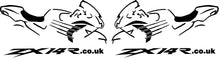 ZX14R.co.uk Gen2 Bike Outline Decal